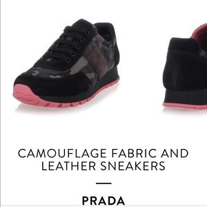 Prada athletic shoes